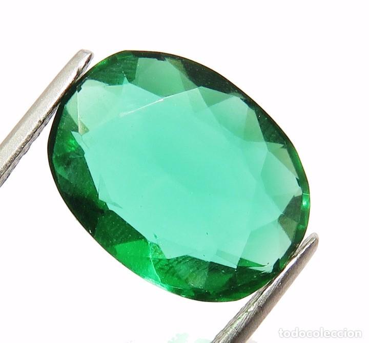 Coleccionismo de gemas: 11,90 CTS EXCELENTE. TOPACIO NATURAL COLOR VERDE TALLA OVAL - Foto 3 - 80808255
