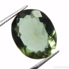 Coleccionismo de gemas: 10,48 CTS AMATISTA NATURAL COLOR VERDE. EXCELENTE CALIDAD. Lote 80808751