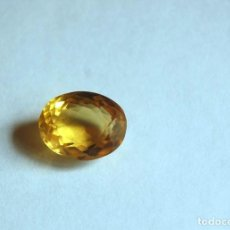 Coleccionismo de gemas: 13,00 CTS EXCELENTE CITRINO NATURAL - NATURAL HUGE YELLOW CITRINE BRAZIL. Lote 85984572