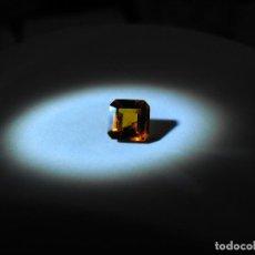 Coleccionismo de gemas: GRANATE HESSONITA NATURAL Y SIN TRATAMIENTO DE 1,13 QUILATES. VER VIDEO.. Lote 87035920