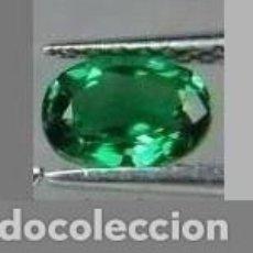 Coleccionismo de gemas: ESMERALDA VERDE TREBOL DE 1,60 KILATES Y MIDE 11X8X5 MILIMETROS - Nº44. Lote 87677220