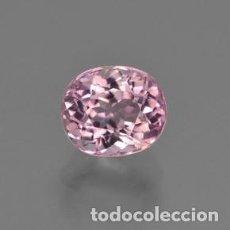 Coleccionismo de gemas: ZAFIRO ROSA EUSTOMA DE 2,10 KILATES Y MIDE 11X9X6 MILIMETROS - Nº8. Lote 87678692