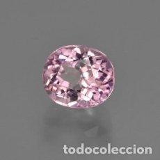 Coleccionismo de gemas: ZAFIRO ROSA EUSTOMA DE 2,15 KILATES Y MIDE 11X9X6 MILIMETROS - Nº7. Lote 87678788