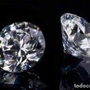 Coleccionismo de gemas: ZAFIRO BLANCO TALLA DIAMANTE DE 1,02 KILATES Y MIDE 7X7X4 MILIMETROS - Nº32. Lote 154716713