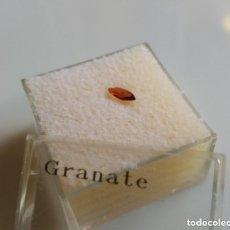 Coleccionismo de gemas: GRANATE NATURAL TALLA MARQUISE . Lote 96906343