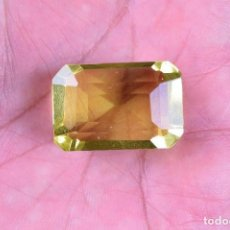 Coleccionismo de gemas: BONITO TOPACIO NATURAL BRASILEÑO LIMON 79,95 CT.. Lote 96946819