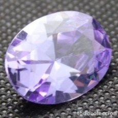 Coleccionismo de gemas: 9,10 CTS EXCELENTE ZAFIRO CHATHUM COLOR AZUL PURPURA. TALLA OVAL. Lote 97131631
