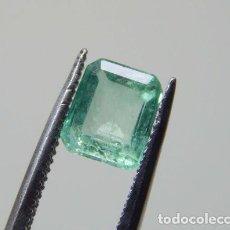 Coleccionismo de gemas: PRECIOSA ESMERALDA DE 1,27 QTES. 7,0X5,3X4,5 MM. Lote 98236551