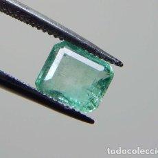 Coleccionismo de gemas: BONITA ESMERALDA DE 1,00 QTE. 66,5X5,5X4,0 MM.. Lote 98236855