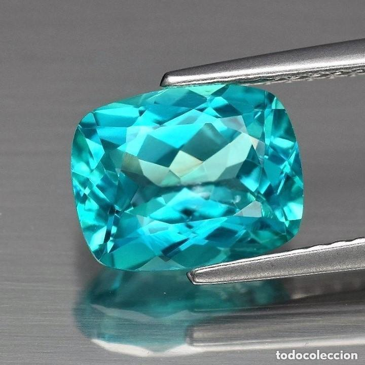 Piedra Natural de topacio Azul aut/éntico calibrada al por Mayor 9 x 7 mm Forma Ovalada
