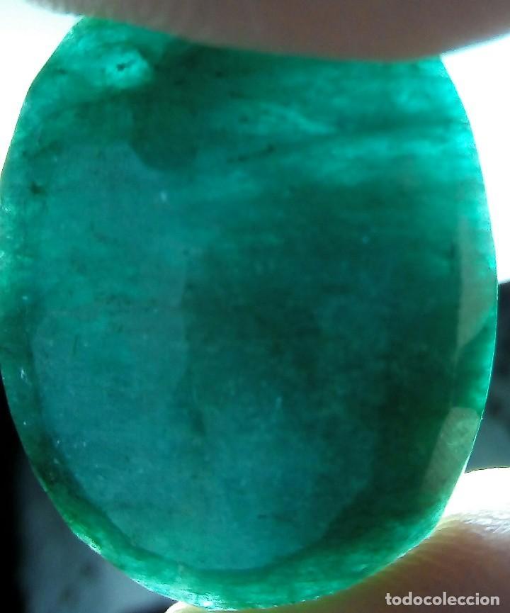 Coleccionismo de gemas: ESMERALDA NATURAL 33.5 ct - Foto 4 - 101581059