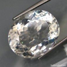 Coleccionismo de gemas: CUARZO HYALINO 16.70 QUILATES + CERTIFICADO IGE, INSTITUTO GEMOLOGICO ESPANOL... Lote 101732315