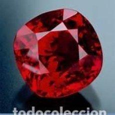 Coleccionismo de gemas: RUBI ROJO SANGRE DE PICHON DE 15,20 KILATES - MEDIDA 1,6 X 1,5 X 1,1 CENTIMETROS - Nº53. Lote 102479255
