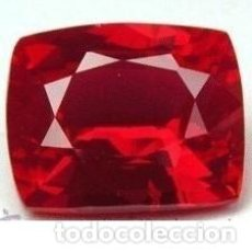 Coleccionismo de gemas: RUBI ROJO SANGRE DE PICHON DE 20,75 KILATES - MEDIDA 1,9 X 1,6 X 1 CENTIMETROS - Nº54. Lote 102479375
