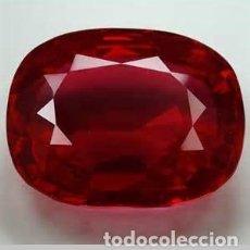 Collectionnisme de gemmes: RUBI ROJO SANGRE DE PICHON DE 15,55 KILATES - MEDIDA 1,8 X 1,4 X 1 CENTIMETROS - Nº52. Lote 102479423