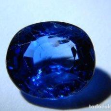 Coleccionismo de gemas: ZAFIRO NATURAL DE CEILAN SIN TRATAMIENTOS QUÍMICOS DE 1,06 QUILATES. . Lote 102747371