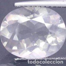 Coleccionismo de gemas: CUARZO ROSA NATURAL - 4.01 CT. - 12,2 X 9,7 X 6 MM. - CON CERTIFICADO. Lote 103251147