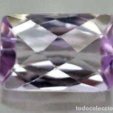 Coleccionismo de gemas: KUNZITA NATURAL - 6.82 CT. - 13 X 9 X 6.6 MM. - CON CERTIFICADO. Lote 103344839
