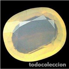 Coleccionismo de gemas: OPALO NATURAL - 11.47 CT. - 17.7 X 14.5 X 8.4 MM. - CON CERTIFICADO. Lote 103346159