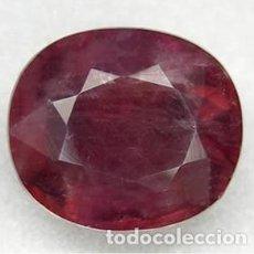 Coleccionismo de gemas: FLUORITA CAMBIO DE COLOR NATURAL - 4.95 CT. - 10.69 X 9.29 X 6 MM. - CON CERTIFICADO. Lote 103348271