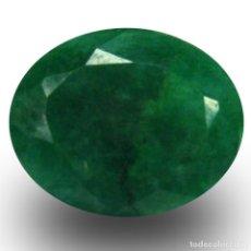 Coleccionismo de gemas: ESMERALDA VERDE DE COLOMBIA 11,50 KILATES LEER DENTRO DESCRIPCION ES GRANDE Y BONITA - Nº14. Lote 103352243
