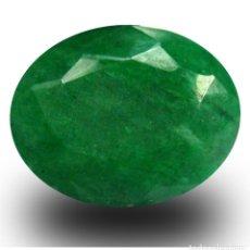 Coleccionismo de gemas: ESMERALDA VERDE DE COLOMBIA 10,25 KILATES LEER DENTRO DESCRIPCION ES GRANDE Y BONITA - Nº13. Lote 103352287