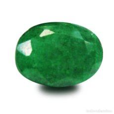 Coleccionismo de gemas: ESMERALDA VERDE DE COLOMBIA 10,50 KILATES LEER DENTRO DESCRIPCION ES GRANDE Y BONITA - Nº15. Lote 103352303
