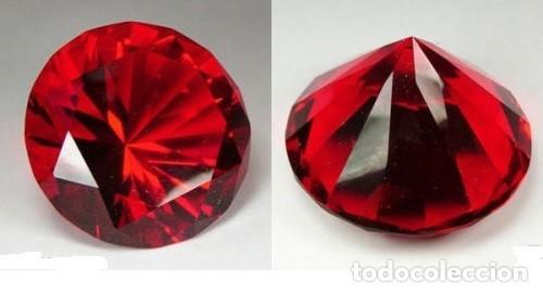 RUBI ROJO SANGRE TALLA DIAMANTE DE 1,75 KILATES - Nº135 (Coleccionismo - Mineralogía - Gemas)