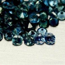 Coleccionismo de gemas: ZAFIRO AZUL REDONDO 2,5 MM.. Lote 113527338