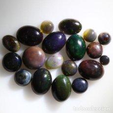 Coleccionismo de gemas: LOTE DE 20 OPAL WELO NATURAL, VIBRANTE JUEGO DE COLORES - 11 QUILATE. Lote 105584823
