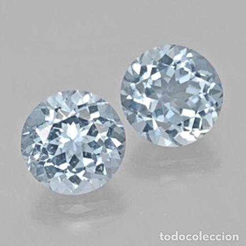 TOPAZIO REDONDO 9 MM (Coleccionismo - Mineralogía - Gemas)