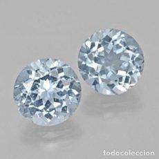 Coleccionismo de gemas: TOPAZIO REDONDO 6 MM. Lote 191931955