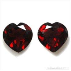 Coleccionismo de gemas: GRANATE CORAZON 6,0 X 6,0 MM. Lote 105661235