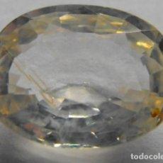 Coleccionismo de gemas: ZAFIRO NATURAL SIN TRATAMIENTO DE 1,02 QUILATES.. Lote 105774443