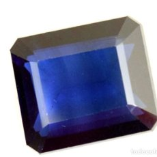 Coleccionismo de gemas: ZAFIRO RECTANGULAR 9,0 X 7,5 MM. Lote 133674973