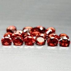 Coleccionismo de gemas: GRANATE OVAL 7,0 X 5,0 MM. Lote 109821542