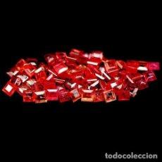 Coleccionismo de gemas: ZAFIRO CUADRADOS 1,8 A 2,0 MM. Lote 117163164