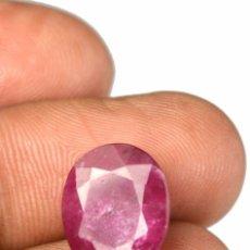 Coleccionismo de gemas: RUBI ROJO AFRICANO DE 8,15 KILATES LEER DENTRO DESCRIPCION - Nº15. Lote 105967647