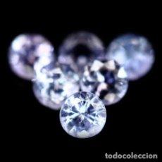 Coleccionismo de gemas: TANZANITA REDONDA 3,0 MM. Lote 115740279