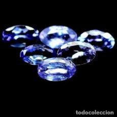 Coleccionismo de gemas: TANZANITA OVAL 5,0 X 3,0 MM. Lote 121666494