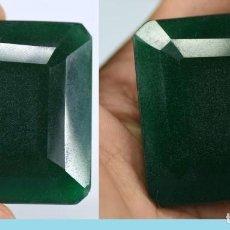 Coleccionismo de gemas: GIGANTE ESMERALDA DE COLOMBIA DE 279,50 KILATES CON CERTIFICADO DE AUTENTICIDAD - Nº20. Lote 108713839