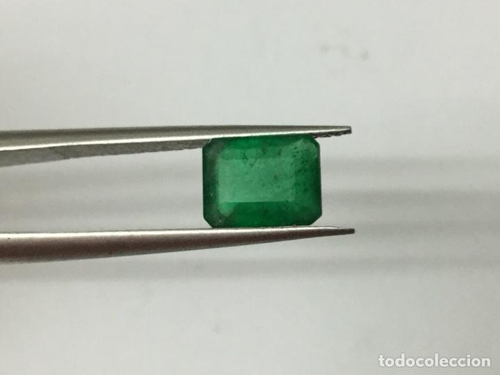 Coleccionismo de gemas: Esmeralda natural, 1,30 ct verde oscuro - Foto 6 - 112855412