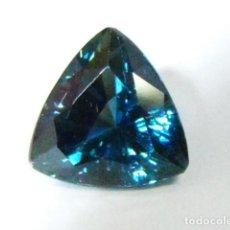 Coleccionismo de gemas: ZAFIRO NATURAL CON CERTIFICADO, SIN TRATAMIENTO DE 1,64 QUILATES. SAPPHIRE UNTREATED. Lote 113446947