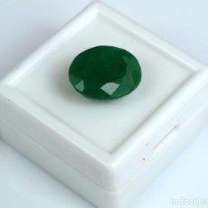 Coleccionismo de gemas: ESMERALDA COLOMBIANA DE 5,95 KILATES CON CERTIFICADO IGL -MEDIDA 1,2 X 1,0 CENTIMETROS - Nº7. Lote 113919723