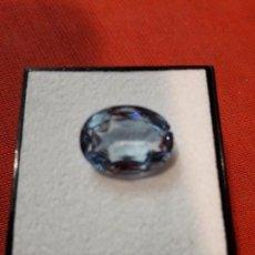 Coleccionismo de gemas: AGUAMARINA NATURAL 10 KILATES. Lote 114146923