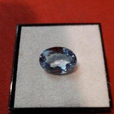 Coleccionismo de gemas: AGUAMARINA NATURAL DE 7 KILATES. Lote 114154071