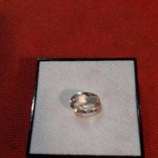 Coleccionismo de gemas: CUARZO LIMÓN NATURAL DE 2.5 KILATES. Lote 114251611