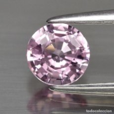 Coleccionismo de gemas: NATURAL PINK SAPPHIRE ZAFIRO 7.60CT CON CERTIFICADO EGL 10.MM X 10.MM X 7.MM. Lote 114694631