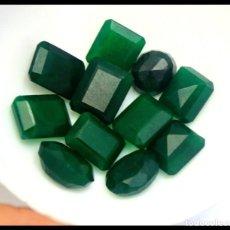 Coleccionismo de gemas: LOTE 11 ESMERALDAS NATURALES 165.00CT ORIGEN BRASIL - CERTIFICADO LABORATORIO EGL. Lote 133437122