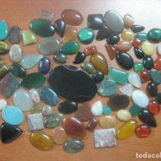 Coleccionismo de gemas: GRAN LOTE DE 90 GEMAS PRECIOSAS Y SEMIPRECIOSAS NATURALES DE MUCHOS TAMAÑOS 3160 QUILATES. Lote 115002059